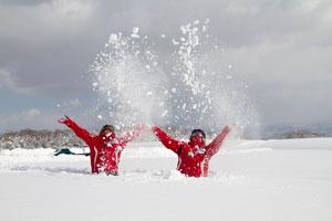 neige au japon
