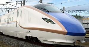 bullet train Hokuriku Shinkansen