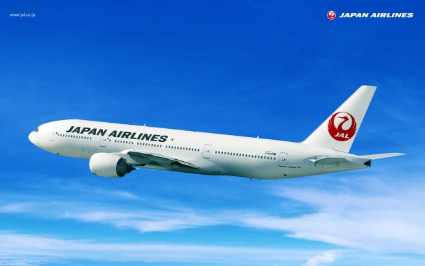Japan Airlines avion wifi